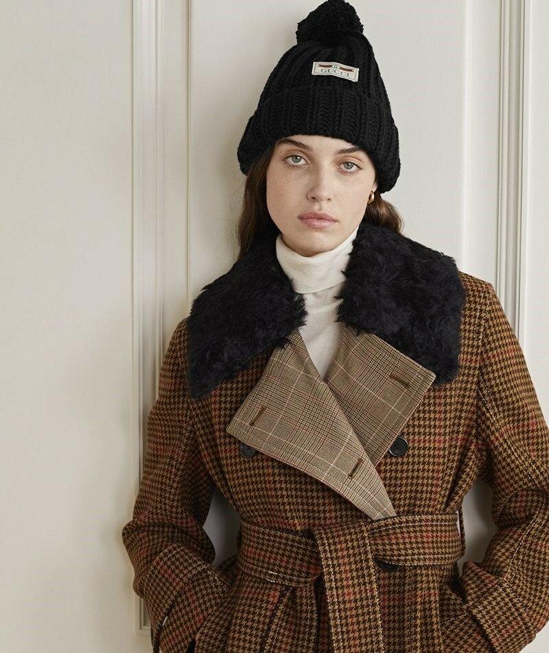 Gucci. Что может быть лучше для вашего гардероба, чем эта массивная вязаная шапка от Gucci?