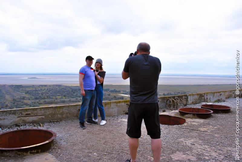 Фотосессия на крыше Крымской АЭС