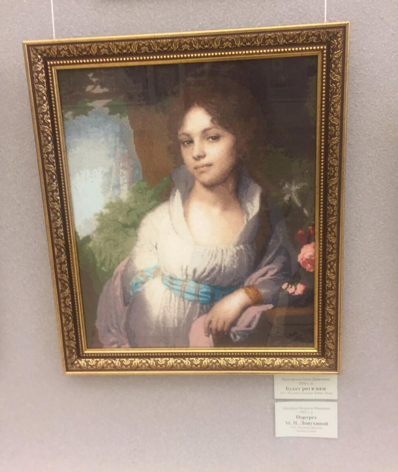 Посетила выставку картин, вышитых крестиком. Шок от увиденной красоты