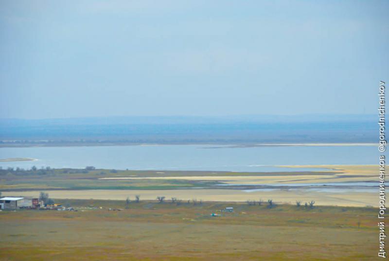 Вид с крыши крымской АЭС