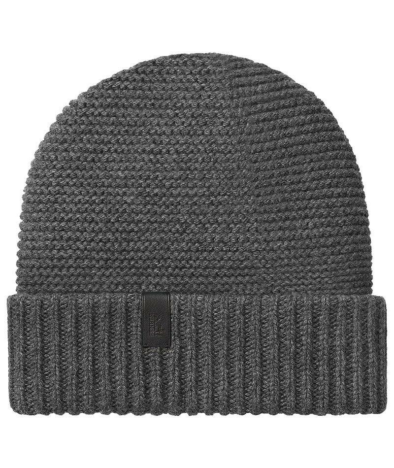 Hermès Boston Beanie.Черный и белый - незаменимые нейтральные цвета для гардероба, но ни одна коллекция кашемировых шапок не обходится без темно-серого варианта, как этот роскошный стиль Hermès.