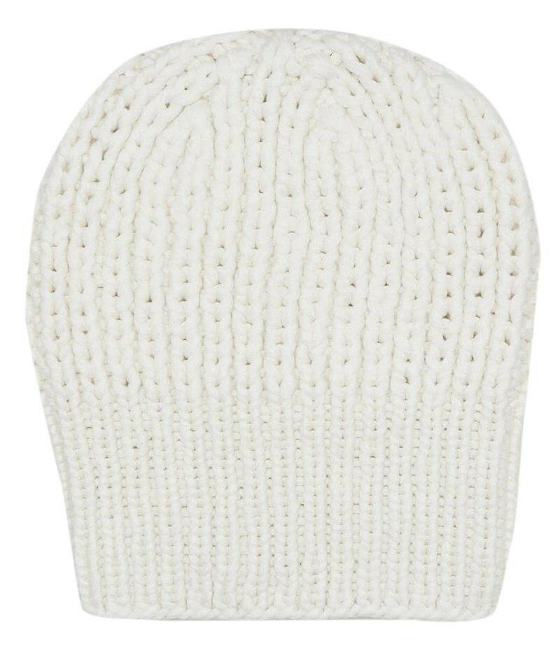 Кашемировая шапка The Row Ayfer. Эта шапка объемной вязки, сплетенная из ультрамягкого кашемира, идеально подходит для шумных дней.